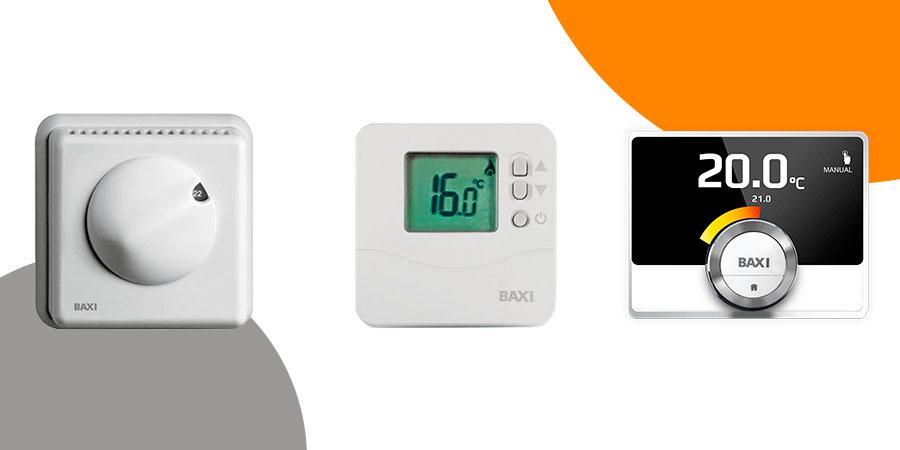 Elección del termostato para instalación de climatización