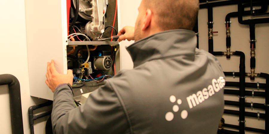 mantenimiento de caldera de condensación