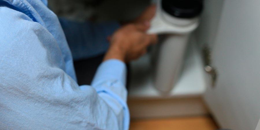 Mantenimiento de una ósmosis inversa doméstica